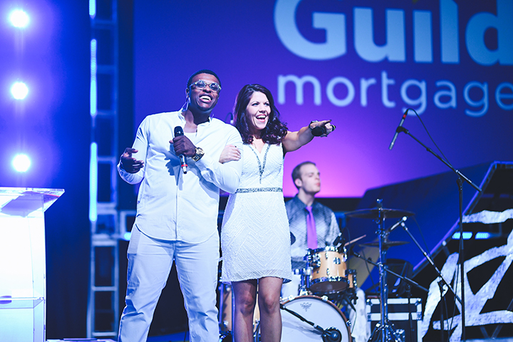 Guild Mortgage Band Party Night