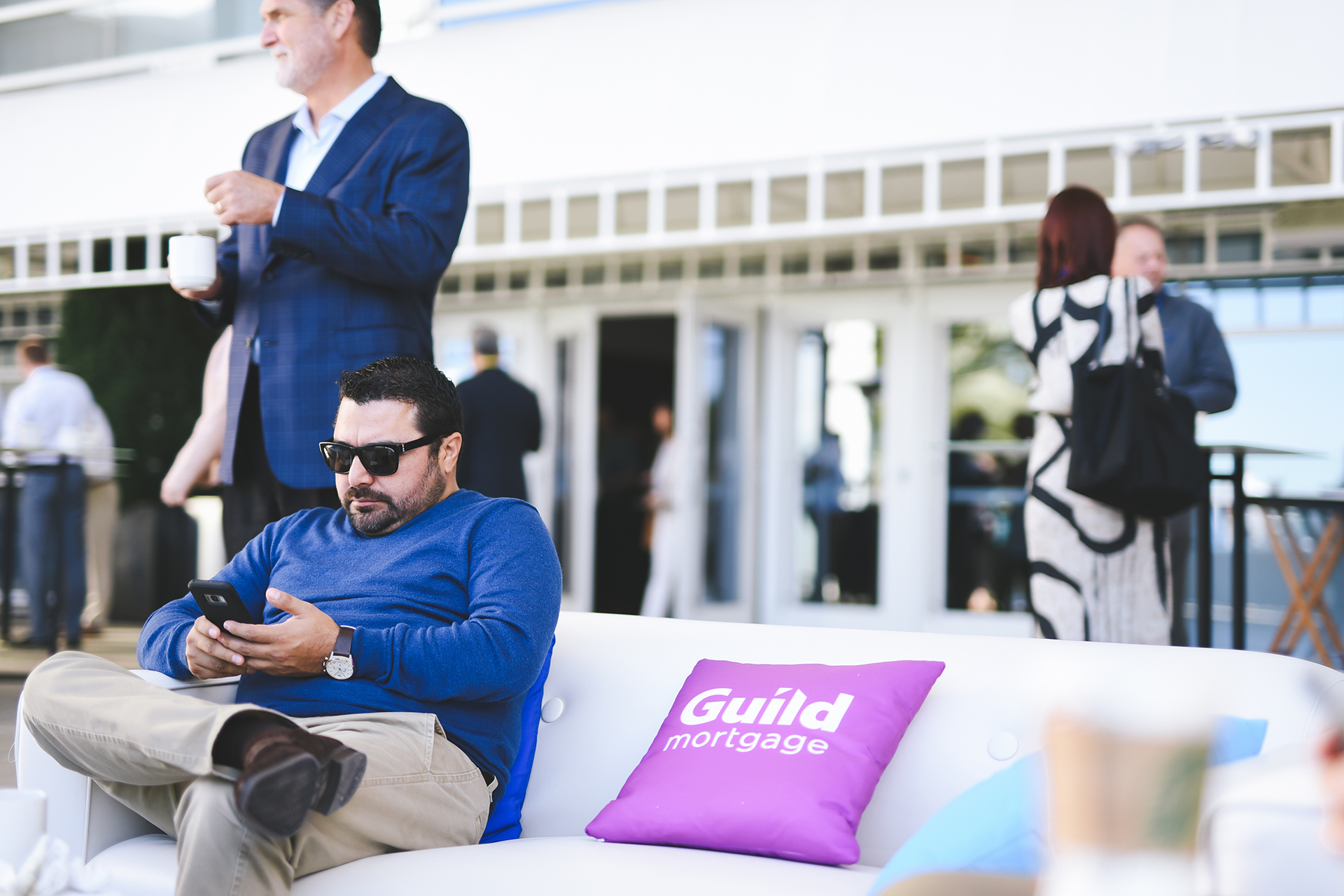 Guild Mortgage Custom Pillows