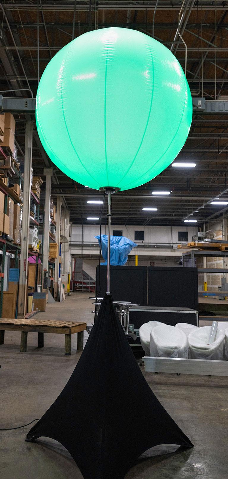 Airstar balloon Gary Musick Event Lighting