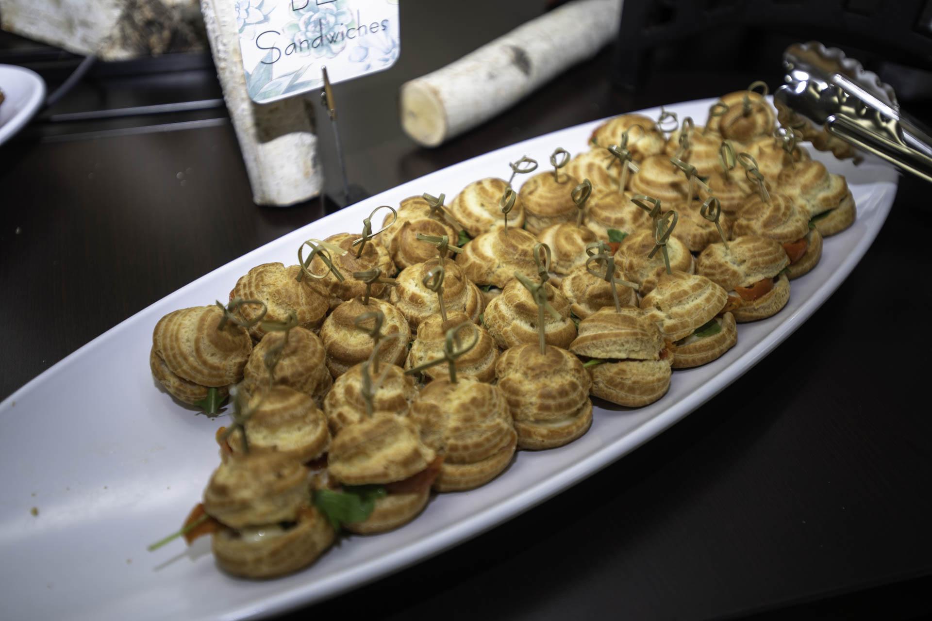 BLT Mini Sandwiches