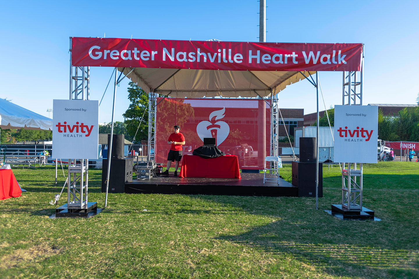 Nashville Heart Walk DJ Stage