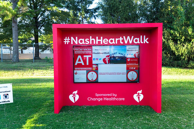 Heart Walk Tint Wall