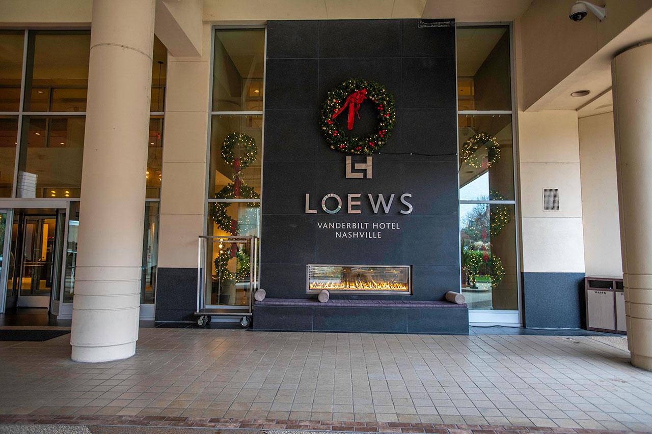 Loews Hotel Christmas Wreath