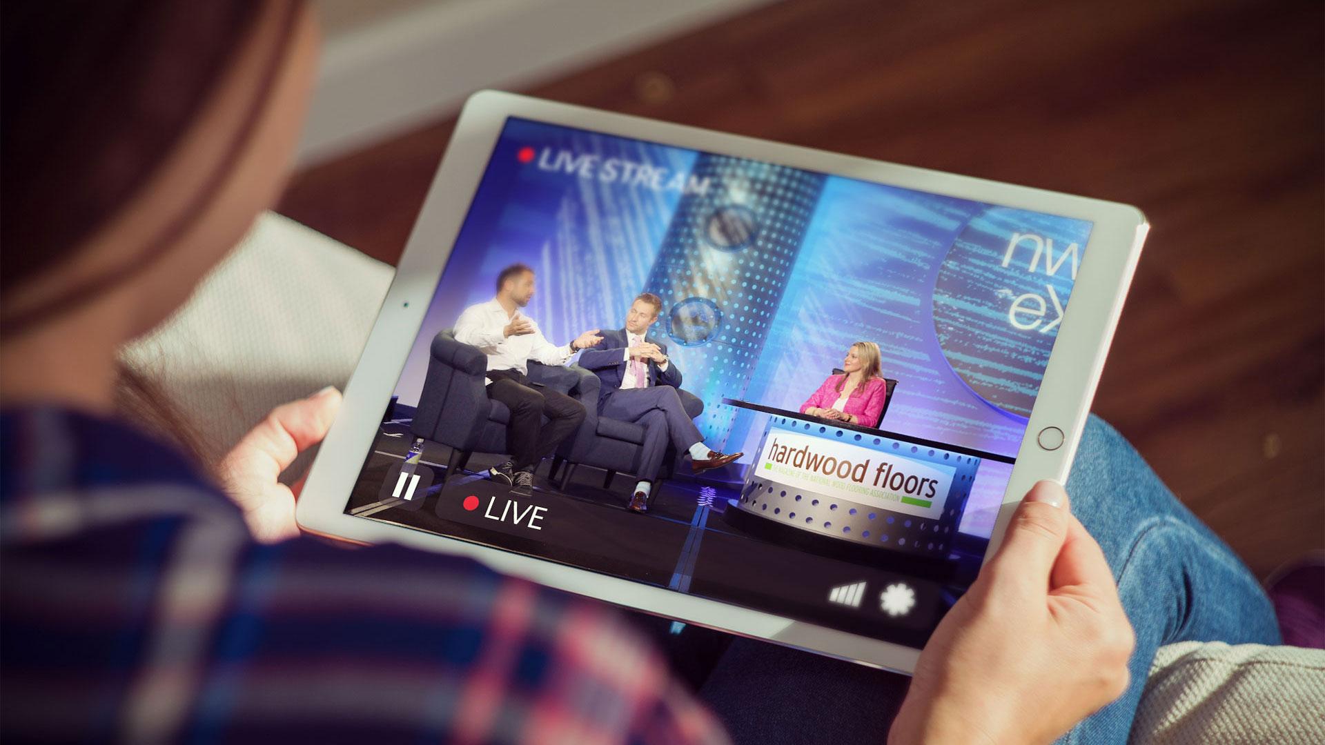 Live-Stream-iPad