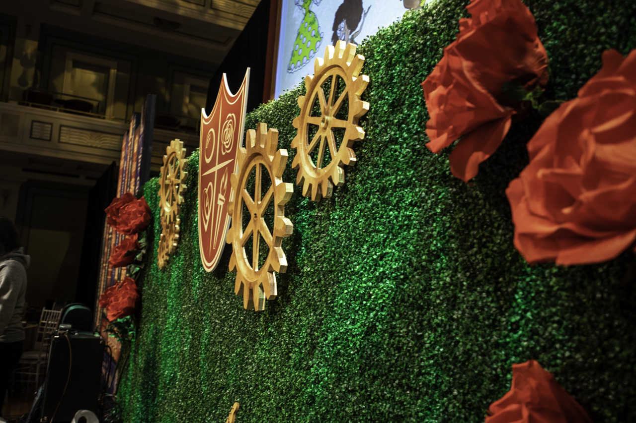 Scenic Stage Gears Steampunk
