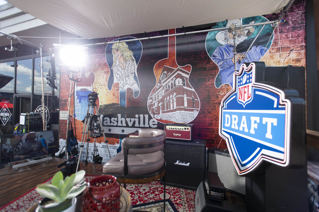 Nfl Draft Espn Stages Gary Musick Productions