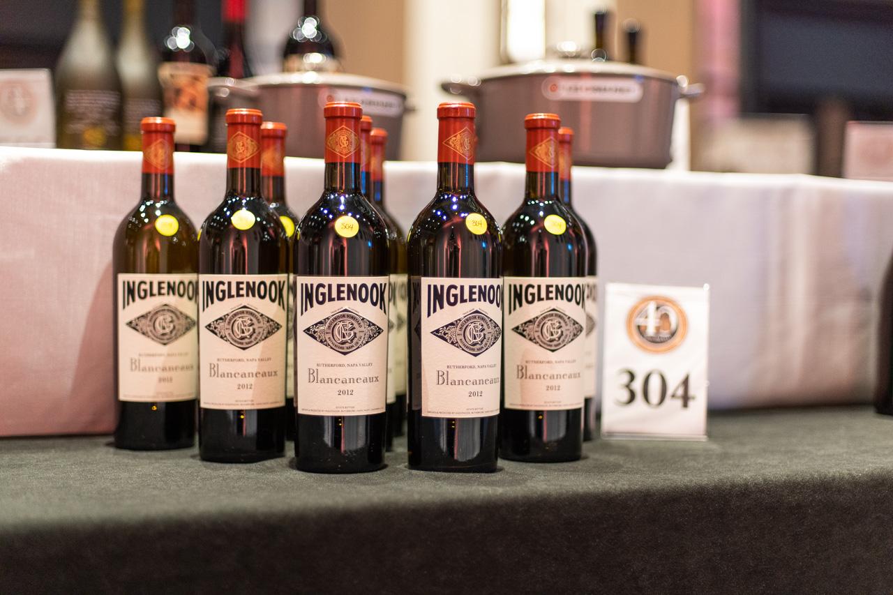 Nashville Wine Auction Lots Gary Musick Inglenook